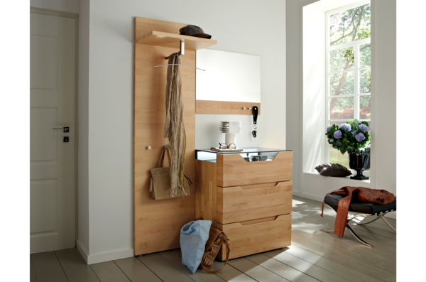 schöne-Wohnideen-für-Zuhause-Flur-mit-modernen-Möbeln
