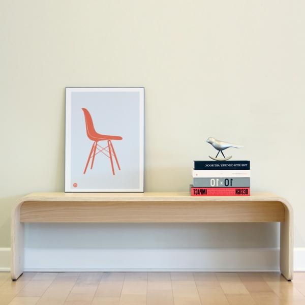schöne-Wohnung-mit-modernen-Flurmöbeln--moderne-Sitzbank-Flur