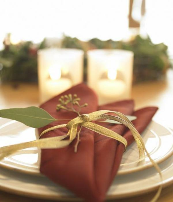 servietten falten weihnachten deko ideen. Black Bedroom Furniture Sets. Home Design Ideas