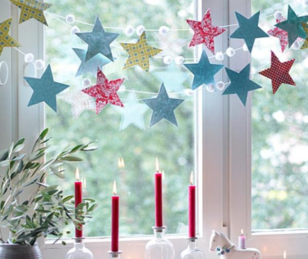 schöne-sterne-aus-papier-fensterdeko-zu-weihnachten