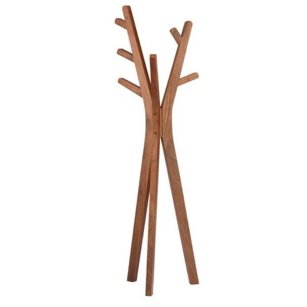 Kleiderständer Aus Holz Design ~ schönes Modell Kleiderständer Holz effektvolle Modelle für den Flur