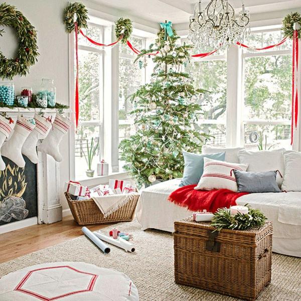 Fensterdeko zu weihnachten 67 super bilder for Wohnzimmer dekorieren weihnachten