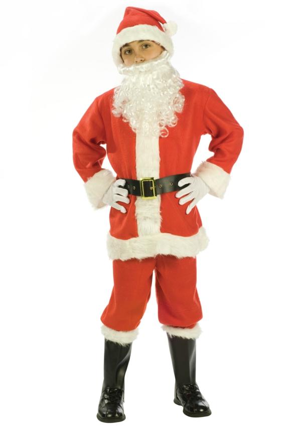 sehr-interessantes-schönes-weihnachtsmann-kostüm-für-kinder
