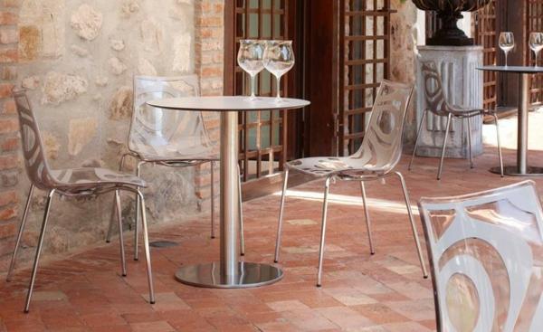 sehr-originelle-küchenstühle-attraktives-design - sehr elegante gestaltung