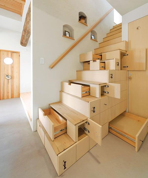 sehr-praktische-Treppen-mit-Platz-zur Aufbewahrung