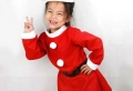 Weihnachtsmann Kostüm: für Kinder und Erwachsenen!