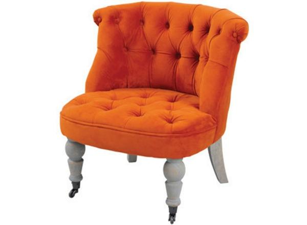 sessel-aus-samt-in-orange