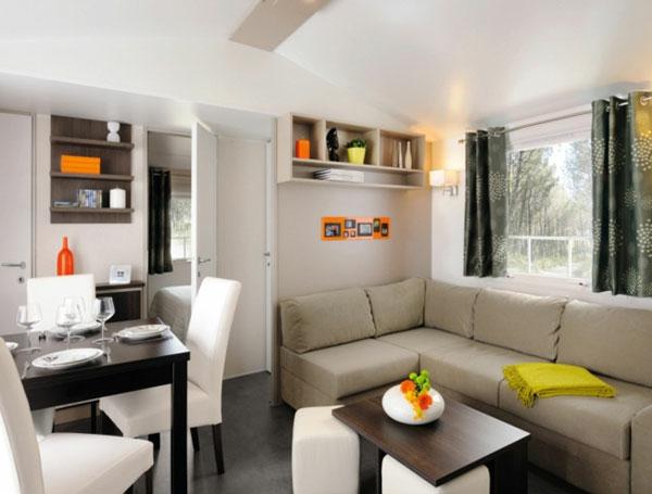 wohnzimmer einrichten - sofa in der ecke