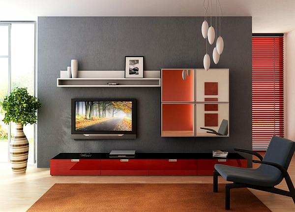 kleines wohnzimmer einrichten - grauer stuhl