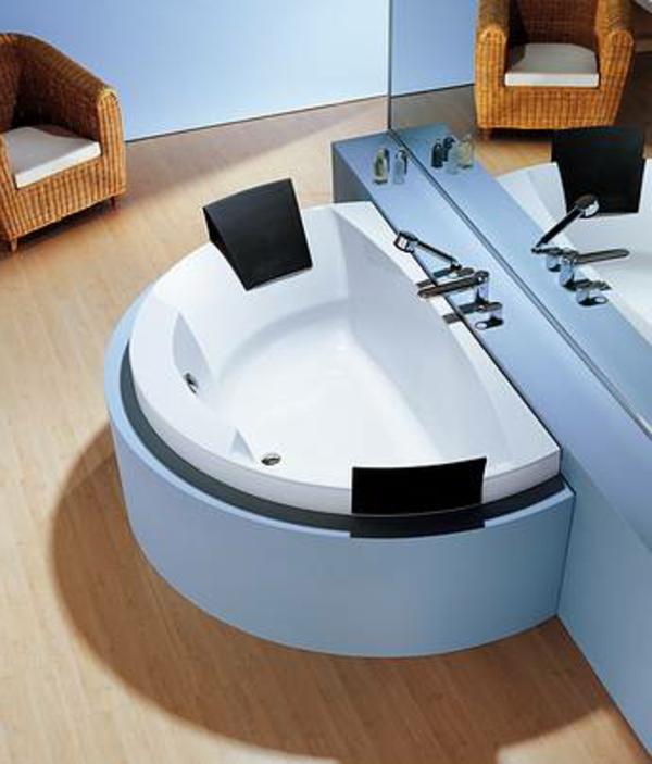 moderne badezimmer gestaltung - badewanne mit schürze