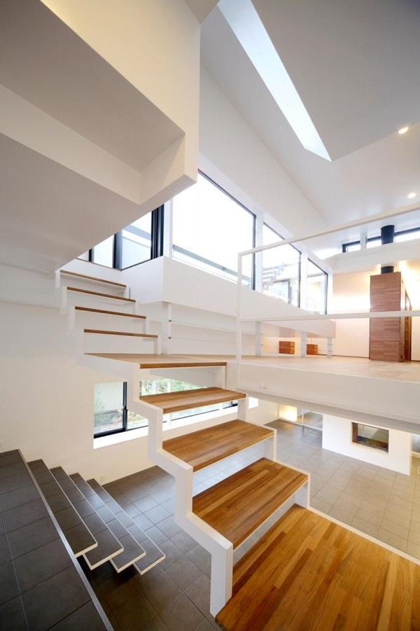 Treppe idee gerade for Treppen ideen