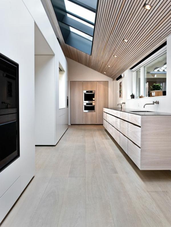 super-modernes-Design-in-der-Küche-Wohnideen-für-Zuhause-Interior-mit-Holzboden