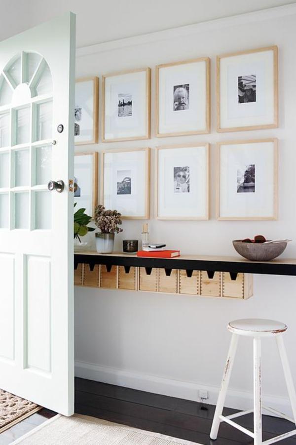 modernen flur gestalten 80 inspirierende ideen. Black Bedroom Furniture Sets. Home Design Ideas