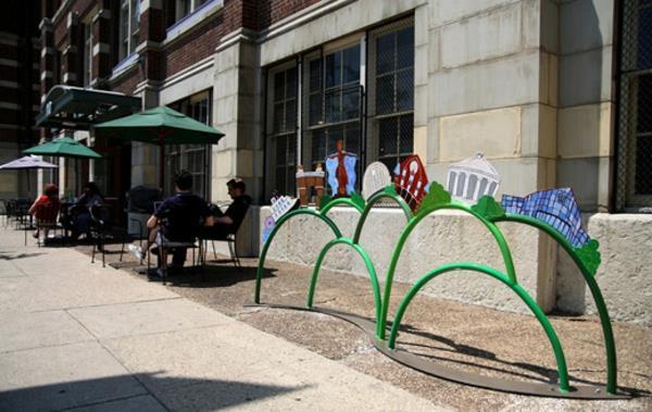 super-toller-kreativer-Fahrrad-Ständer