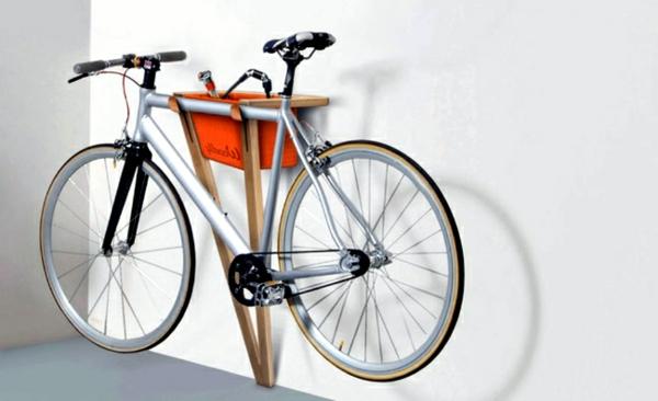 Fahrradständer -aus-Holz
