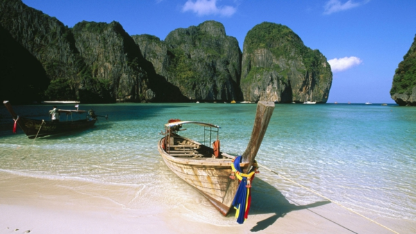 bild von französich polynesien - schönes boot