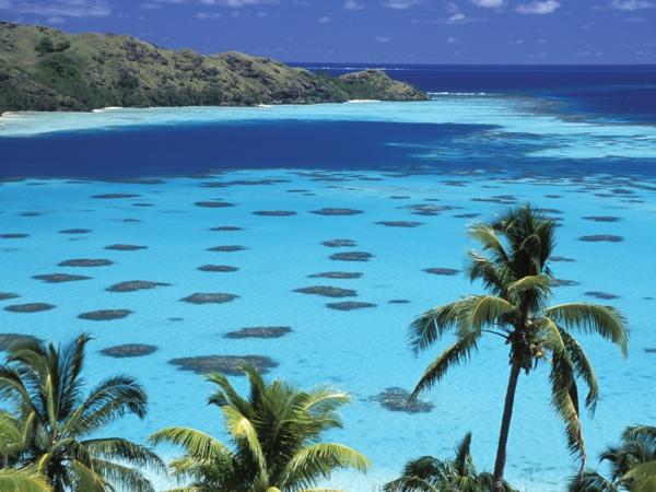 französich polynesien - schönes reiniges wasser