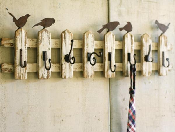 vintage-wandhaken-mit-kleinen-vögeln