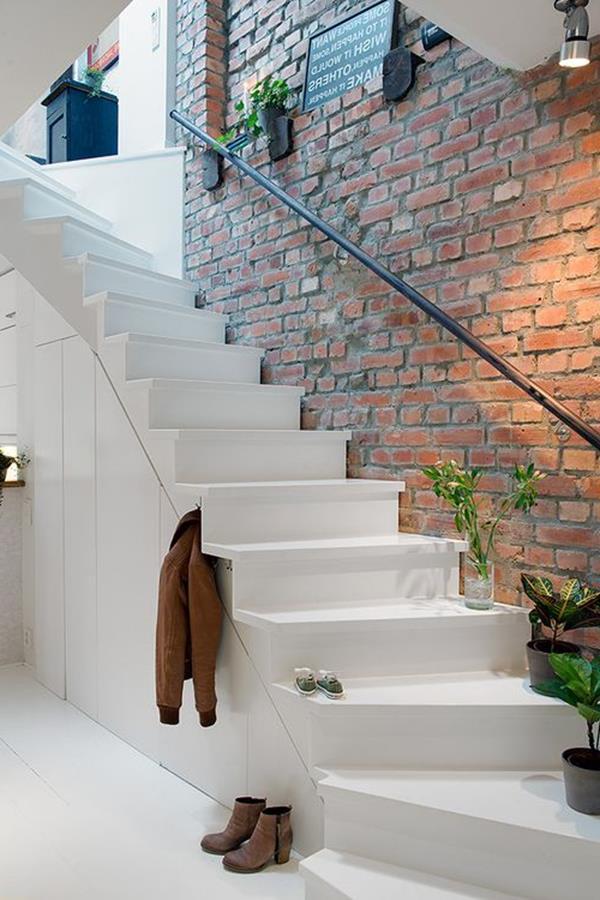 weiße-Treppen-elegantes-Interior-im-Hause
