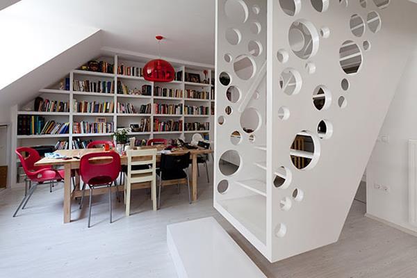 weiße-Treppen-mit-außerordentlichem-Design-Interior-Ideen