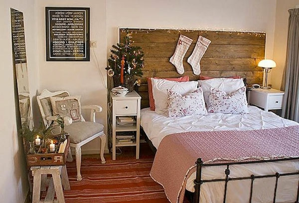 weihnachtsdeko-ideen-gemütliches-schlafzimmer