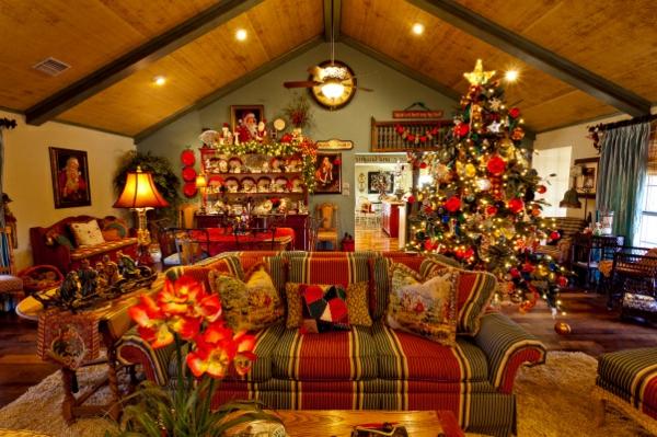 75 unglaubliche weihnachtsdeko ideen - Weihnachten wohnzimmer ...