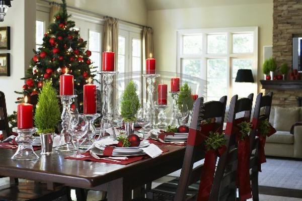 Weihnachtsdeko Ideen Fur Den Tisch