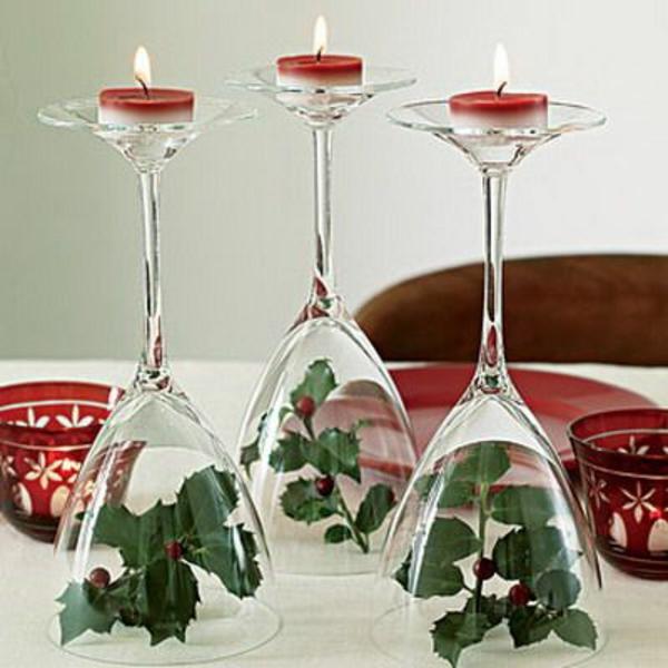 weihnachtsdeko-ideen-kerzen-auf-gläsern