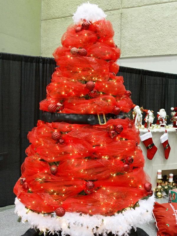 weihnachtsdeko-ideen-roter-tannenbaum