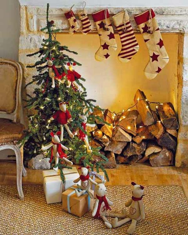 weihnachtsdeko-ideen-schöner-tannenbaum