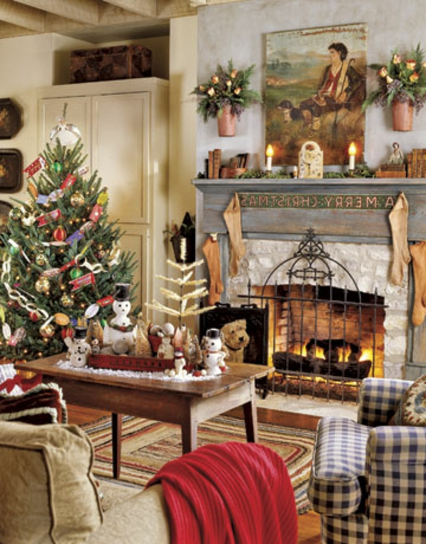 weihnachtsdeko-ideen-sehr-gemütliches-zimmer