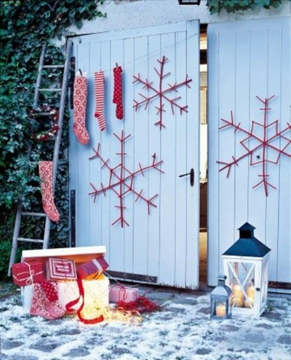 weihnachtsdeko ideen f r drau en innenarchitektur weihnachtsdeko f r draussen weihnachtsdeko. Black Bedroom Furniture Sets. Home Design Ideas