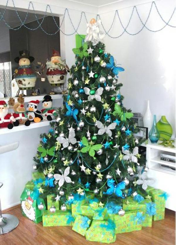 weihnachtsdeko-ideen-super-schöner-tannenbaum