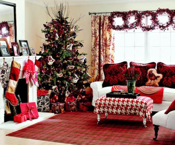 weihnachtsdeko-ideen-traditionelles-zimmer