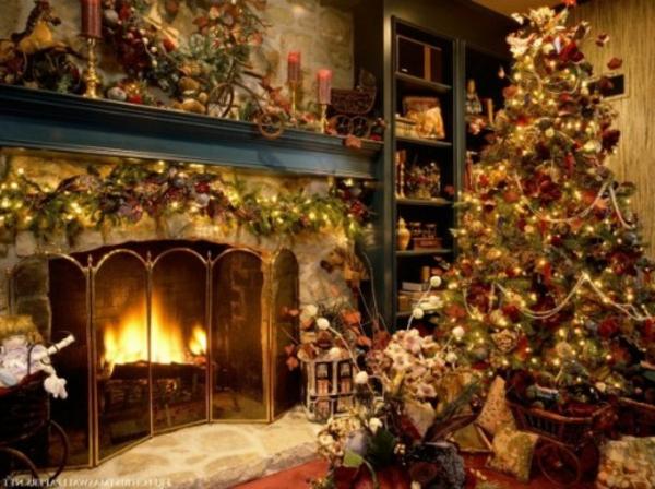 weihnachtsdeko-ideen-viele-leuchten