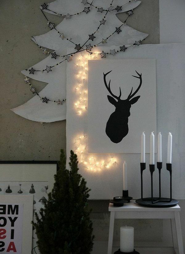 weihnachtsdeko-ideen-weiß-und-attraktiv