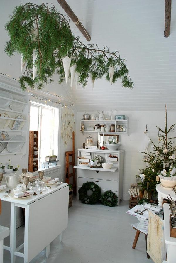 weihnachtsdeko-ideen-weiße-gestaltung