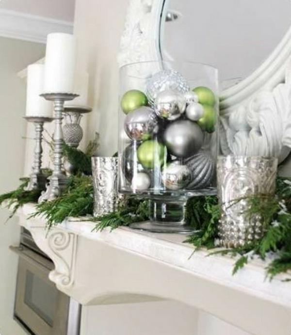 weihnachtsdeko-ideen-weiße-und-silberne-elemente
