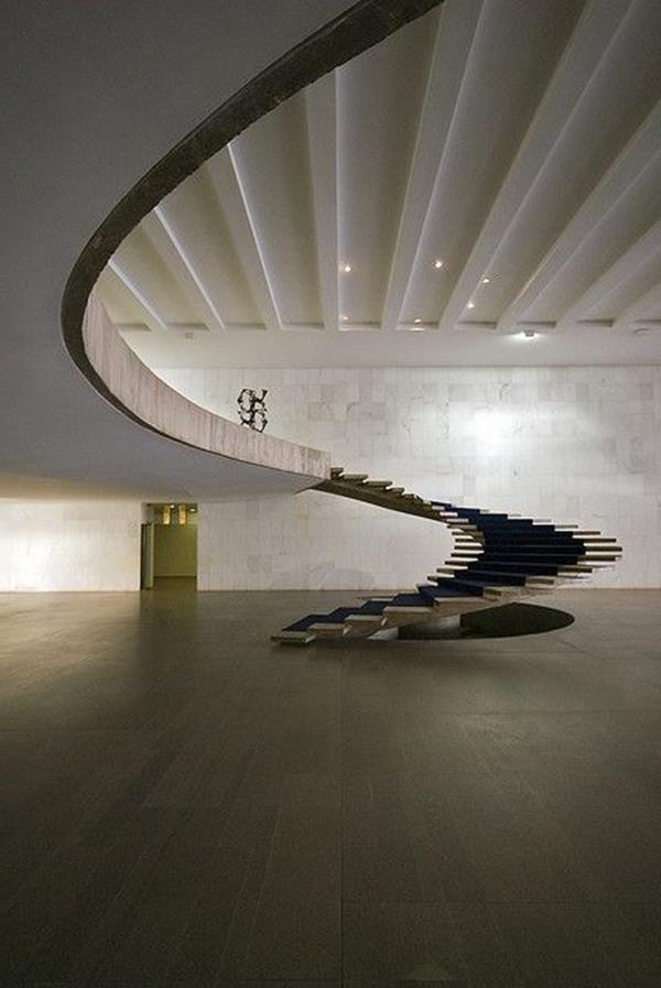 merveilleuses idées-pour-un-moderne intérieur escalier