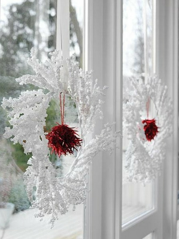 Fensterdeko zu weihnachten 67 super bilder - Elegante weihnachtsdeko ...
