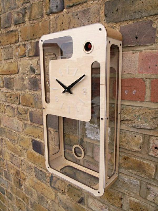 wunderschöne-moderne-Wanduhren-mit-faszinierendem-Design-coole-Idee