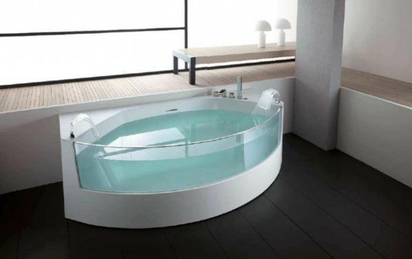 wunderschönes-design-von-badewanne-mit-schürze - durchsichtiges design