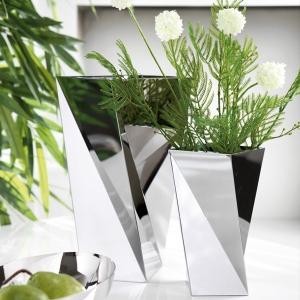 Vase in Silber - der Hingucker auch in Ihr Zuhause