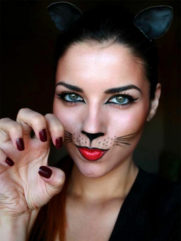 katze schminken einfach