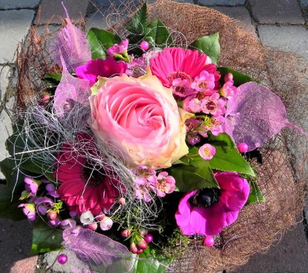 Blumenstraus aus Schnittblumen
