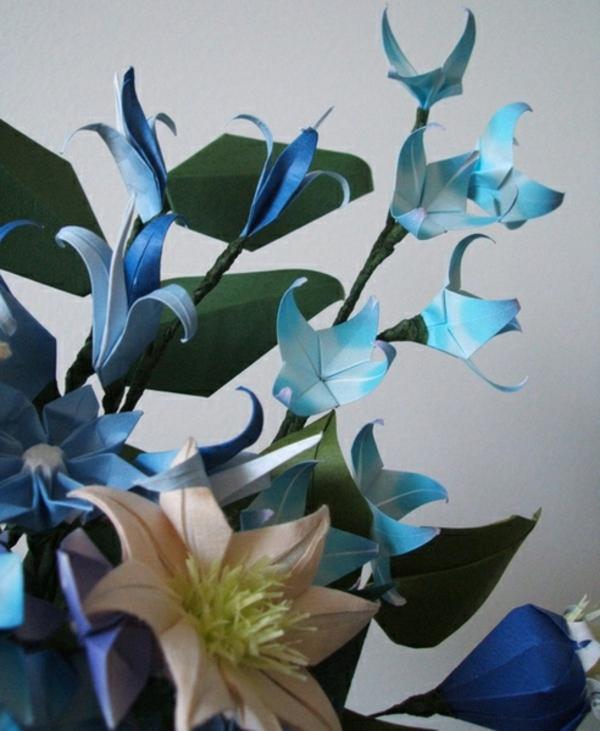 blaue-origami-blumen