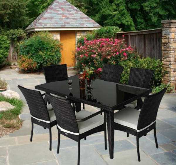 rattanm bel f r terrasse neuesten design. Black Bedroom Furniture Sets. Home Design Ideas