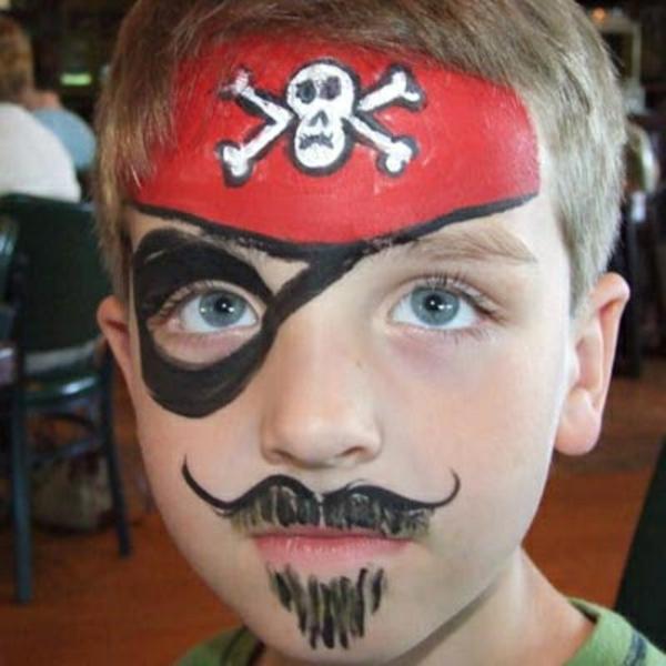 piratschminken - sehr auffälliges bild