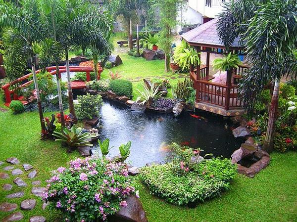 Traumgarten einfach inspirieren lassen - Gartenteich gestaltungsideen ...