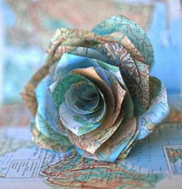 origami-rose-weltkarte